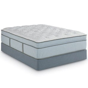 Queen Restonic Scott Living Ambiance Euro Top 16 Inch Mattress