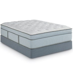 King Restonic Scott Living Cascade Euro Top 14.5 Inch Mattress