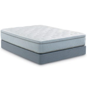 Queen Restonic Scott Living Mirage Euro Top Mattress