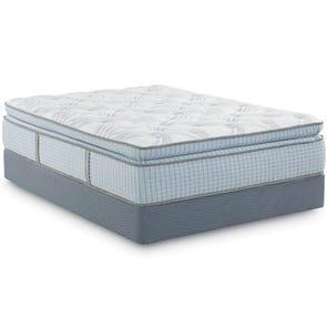 Queen Restonic Scott Living Panorama Super Pillow Top 14.5 Inch Mattress