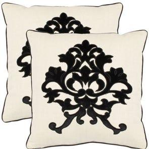 Safavieh Greyson 18 Inch Onyx Decorative Pillows Set of 2