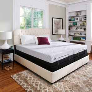 King Sealy Posturepedic Conform Performance High Spirits Firm 10.5 Inch Mattress + FREE $100 Gift Card