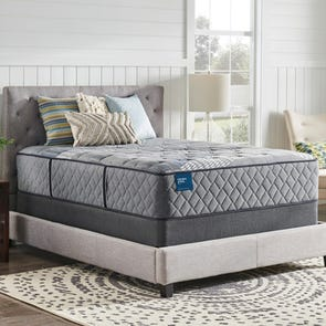 Queen Sealy Crown Jewel Hybrid Crown Estate Plush 15.5 Inch Mattress
