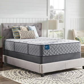 Cal King Sealy Crown Jewel Performance Geneva Ruby Plush 14.5 Inch Mattress