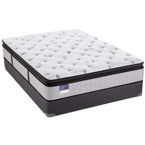 Queen Sealy Crown Jewel Performance Inspirational Joy Plush Euro Pillow Top Mattress