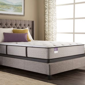 Queen Sealy Crown Jewel Performance Inspirational Precision Plush 12.5 Inch Mattress