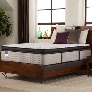 Queen Sealy Crown Jewel Premium Inspirational Honor Plush Euro Pillow Top 15 Inch Mattress