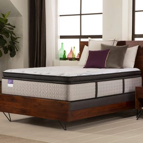 "Sealy Crown Jewel Premium Inspirational Sleep Plush Euro Pillow Top 16.5 Inch King Mattress Only OVML121907 - Overstock Model ""As-Is"""