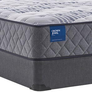 Twin XL Sealy Crown Jewel Value Black Opal Cushion Firm 12.5 Inch Mattress