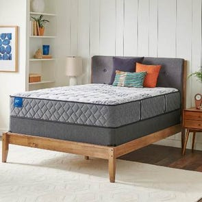 King Sealy Crown Jewel Value Black Opal Plush 12.5 Inch Mattress