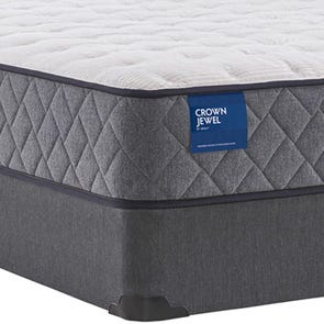 Cal King Sealy Crown Jewel Value Inca Rose Firm 10 Inch Mattress