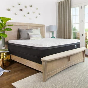 King Sealy Posturepedic Hybrid Essentials Trust II 12 Inch Mattress + FREE $100 Gift Card