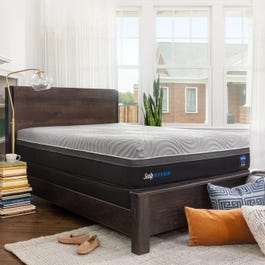 King Sealy Posturepedic Hybrid Performance Copper Ii Plush 13 5 Inch Mattress Free 200 Visa Gift Card