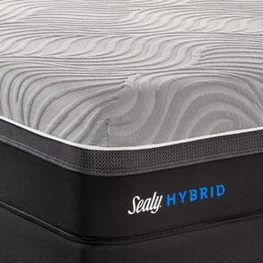 Queen Sealy Posturepedic Hybrid Performance Kelburn II Mattress + FREE $200 Gift Card