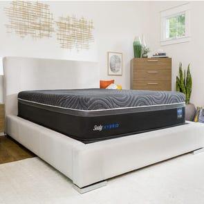 Queen Sealy Posturepedic Hybrid Premium Silver Chill Firm 14 Inch Mattress + FREE $200 Visa Gift Card