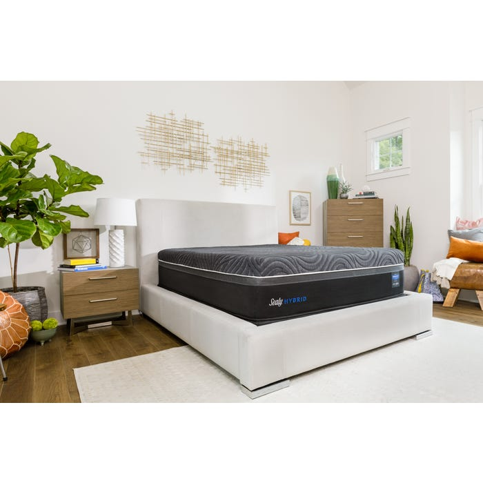 Queen Sealy Posturepedic Hybrid Premium Silver Chill Plush Mattress