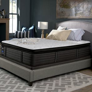 King Sealy Posturepedic Response Premium Barrett Court IV Cushion Firm Pillow Top 16 Inch Mattress