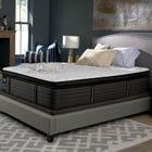 Cal King Sealy Posturepedic Response Premium Barrett Court IV Plush Pillow Top 16 Inch Mattress