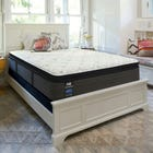King Sealy Posturepedic Response Performance Cooper Mountain IV Cushion Firm Pillow Top 14 Inch Mattress