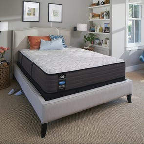 Queen Sealy Posturepedic Response Performance Cooper Mountain IV Cushion Firm 12.5 Inch Mattress