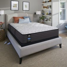 Queen Sealy Posturepedic Response Performance Cooper Mountain IV Firm Mattress