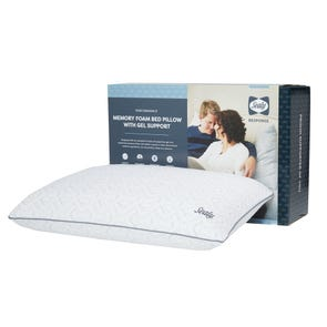 Sealy Response Memory Foam Bed Pillow with Support Gel