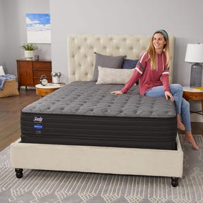 Queen Sealy Response Performance Alder Avenue Cushion Firm 12.5 Inch Mattress