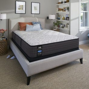 Queen Sealy Posturepedic Response Performance Cooper Mountain IV Plush 12.5 Inch Mattress
