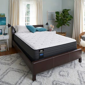 Queen Sealy Posturepedic Response Performance Mountain Ridge IV Firm Mattress