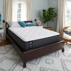 King Sealy Posturepedic Response Performance Santa Paula IV Cushion Firm 12 Inch Mattress