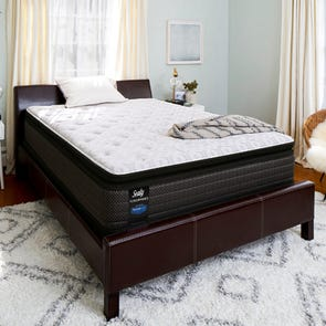 King Sealy Posturepedic Response Performance Santa Paula IV Cushion Firm Pillow Top Mattress