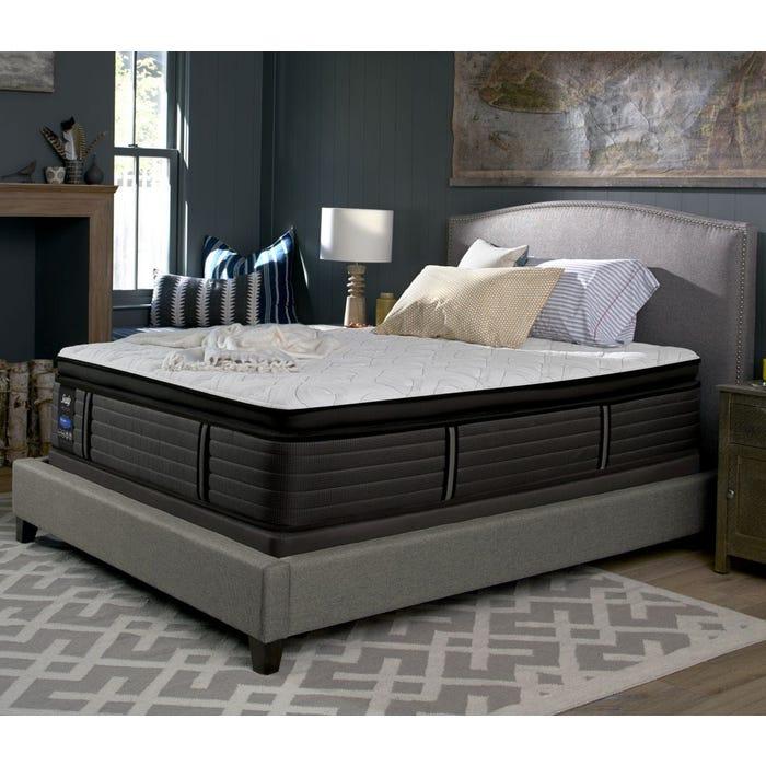 Queen Sealy Posturepedic Response Premium Barrett Court Iv Cushion Firm Pillow Top Mattress