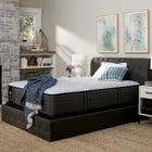 King Sealy Posturepedic Response Premium Barrett Court IV Ultra Firm 12.5 Inch Mattress with Ergo Adjustable Base