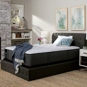 King Sealy Posturepedic Response Premium Barrett Court IV Ultra Firm Mattress with Ergo Extend Adjustable Base