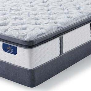 "Serta Hotel Bellagio Grande Notte II Firm Super Pillow Top Queen Mattress Only OVML101847 - Clearance Model ""As Is"""