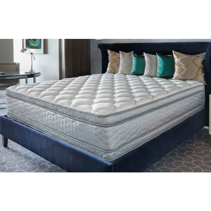 Pleasant Queen Serta Perfect Sleeper Hotel Presidential Suite Ii Euro Pillow Top Double Sided 14 25 Inch Mattress Ibusinesslaw Wood Chair Design Ideas Ibusinesslaworg