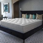 Full Serta Perfect Sleeper Hotel Sapphire Suite II Firm Double Sided 14 Inch Mattress 2 Pack