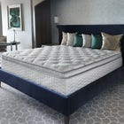 King Serta Perfect Sleeper Hotel Sapphire Suite II Plush Pillow Top Double Sided 14.25 Inch Mattress