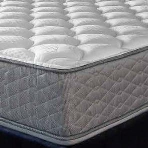 """Serta Perfect Sleeper Hotel Sapphire Suite II Plush Double Sided Twin Mattress Only OVML121845 - Clearance Model """"As Is"""""""