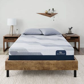 Queen Serta iComfort Blue 100 CT Gentle Firm 9.75 Inch Mattress