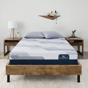 Queen Serta iComfort Blue 300 CT Plush Mattress + FREE $300 Gift Card