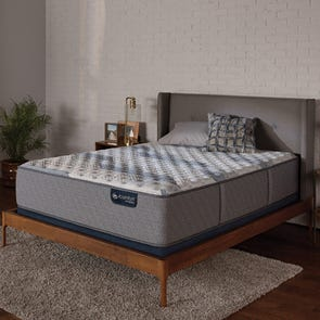 Queen Serta iComfort Hybrid Blue Fusion 100 Firm Mattress