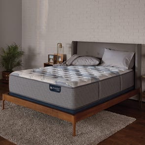 Full Serta iComfort Hybrid Blue Fusion 200 Plush Mattress + FREE $300 Gift Card