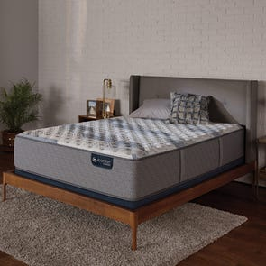 King Serta iComfort Hybrid Blue Fusion 500 Extra Firm 14 Inch Mattress