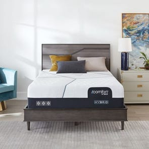 Queen Serta iComfort Hybrid CF3000 13.5 Inch Plush Mattress