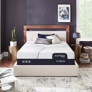 Queen Serta iComfort Hybrid CF4000 14 Inch Plush Mattress