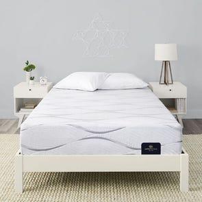 Twin XL Serta Perfect Sleeper Elite Foam Carriage Hill II Cushion Firm 11 Inch Mattress