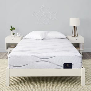 Twin Serta Perfect Sleeper Elite Foam Southpoint II Plush Mattress