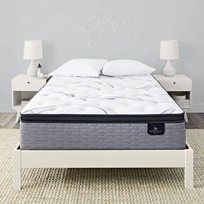 Queen Serta Perfect Sleeper Elite Trelleburg II Firm Pillow Top 14.25 Inch Mattress