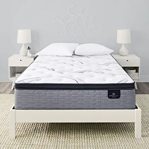 Cal King Serta Perfect Sleeper Elite Trelleburg II Firm Pillow Top 14.25 Inch Mattress